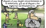 BLOQUEO migrantes cuba mexico