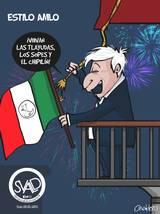 ESTILO AMLO grito independencia mexico