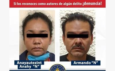 Detienen A Hombre Y Mujer En Flagrancia Por El Delito De Extorsion