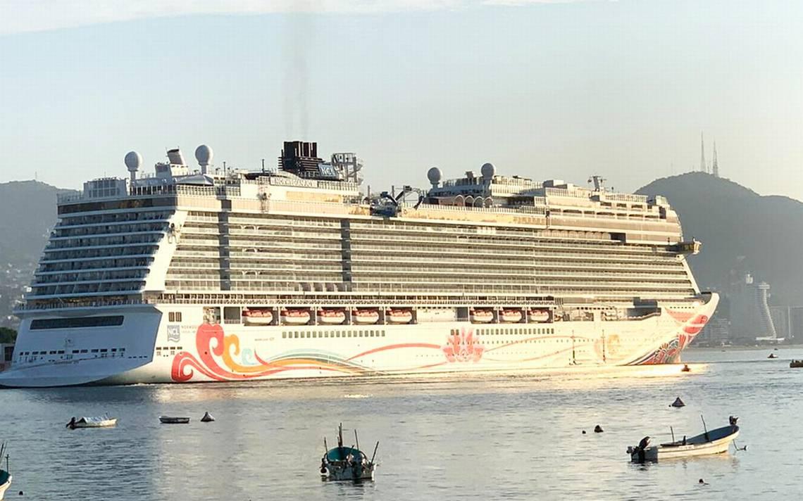 Llega a Acapulco el crucero Norweigan Joy - El Sol de Acapulco