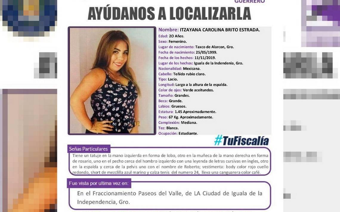 Activan Protocolo Alba por desaparición de mujer en Iguala - El Sol de Acapulco