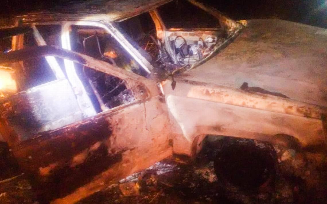 Localizan dos cuerpos calcinados dentro de vehículo en Chilpancingo - El Sol de Acapulco